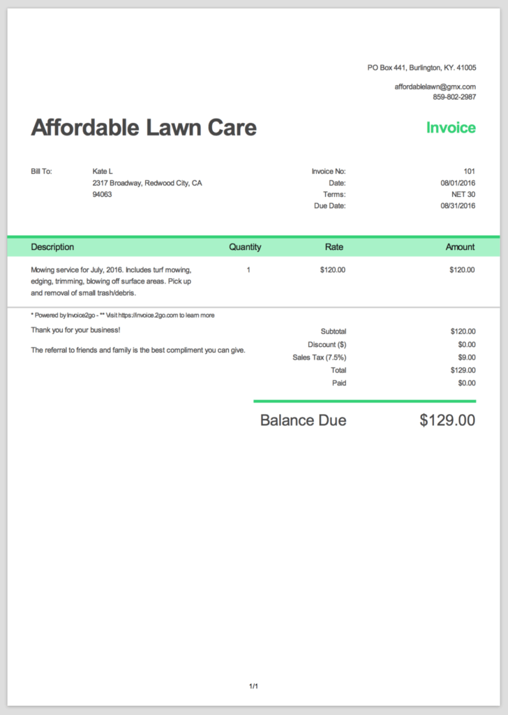 Sample Of Invoices for Services and How to Create A Professional Invoice Sample Invoice Templates