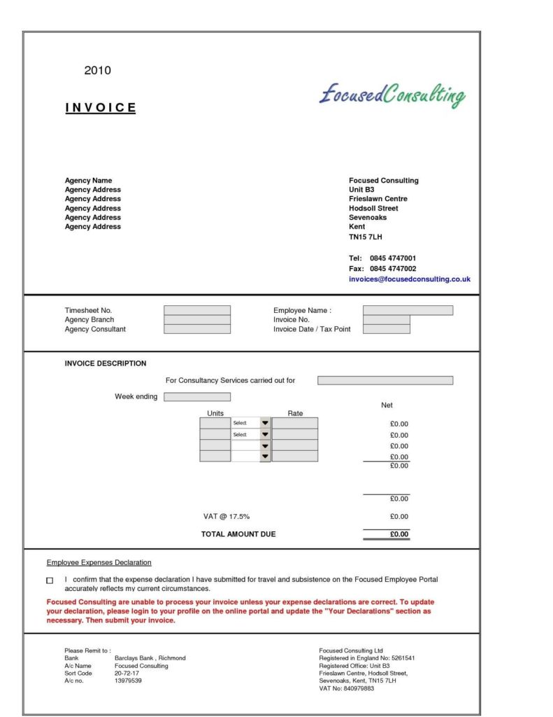 Sample Of Service Invoice and Sample Of Service Invoice Invoice Template Ideas