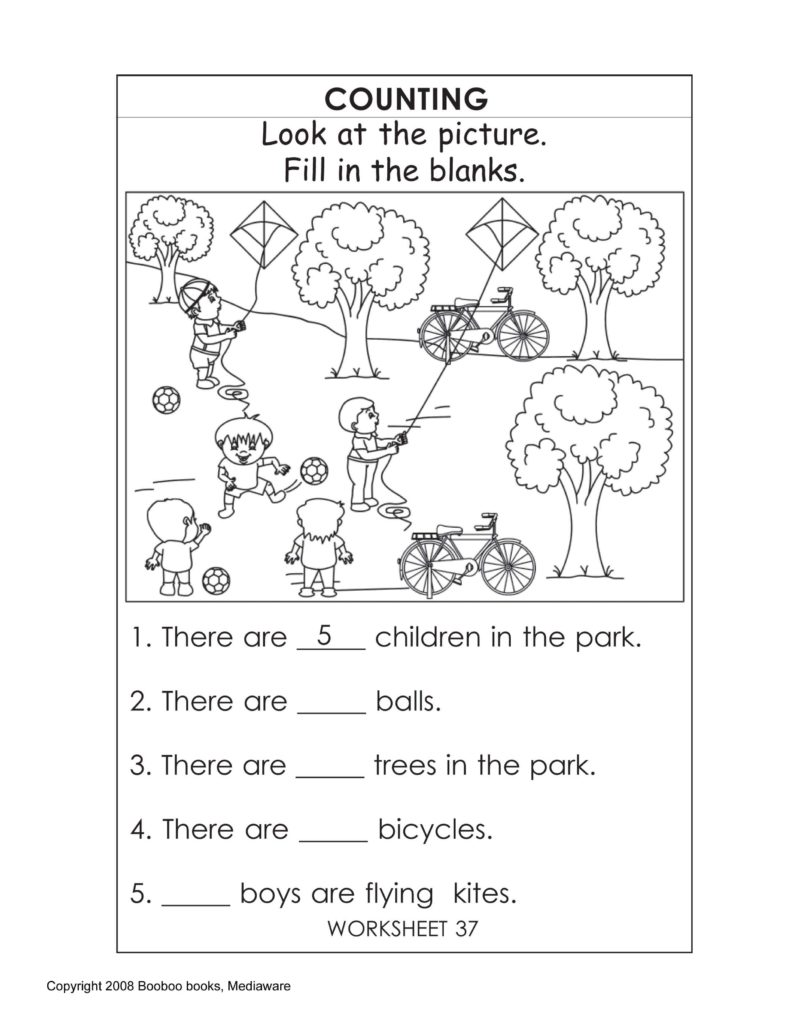 Sample Worksheet for Kindergarten and Printable Kindergarten Worksheets Kindergarten Worksheets
