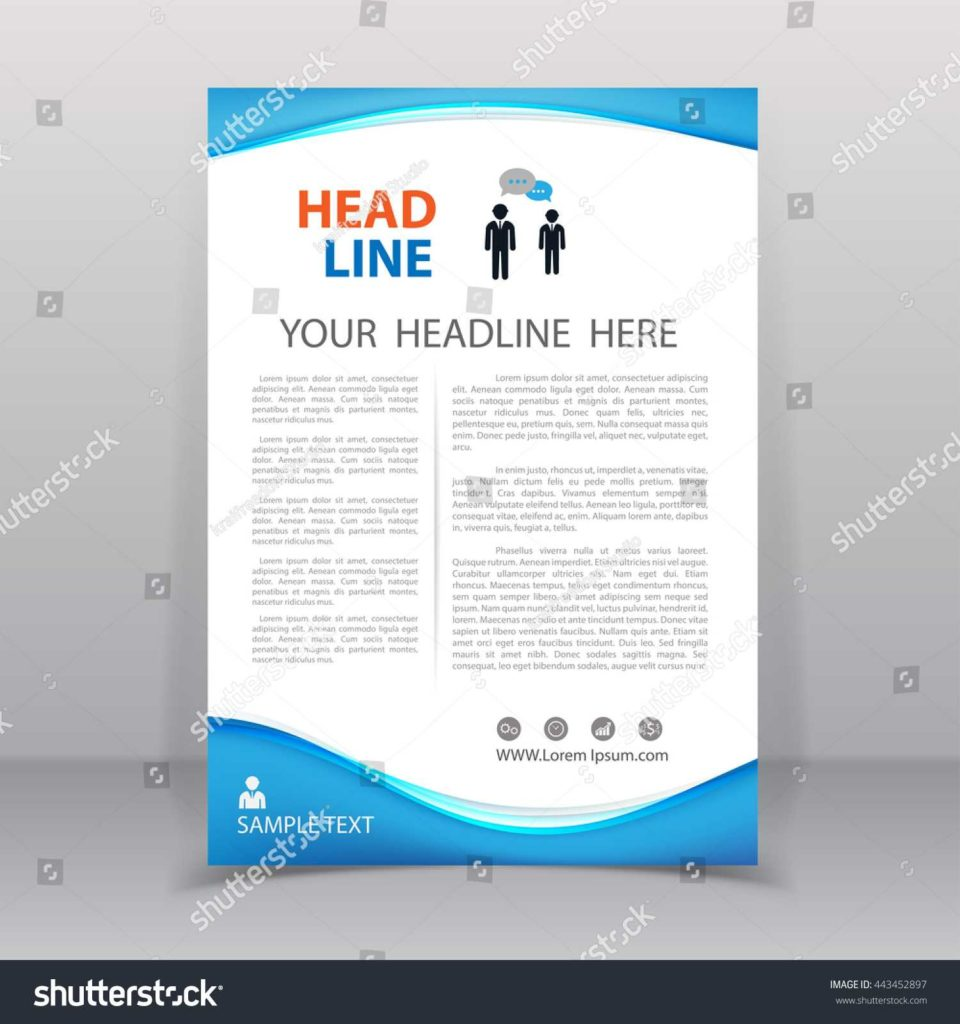 Sem Report Template and Vector Annual Report Template Stock Vector Shutterstock