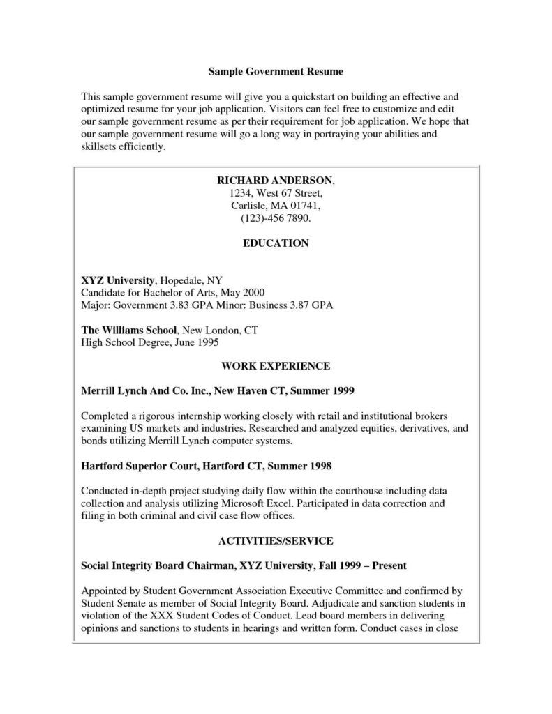 Senate Bill Template and Writing Sample Resume Resume Writing Technical Writer Cover Letter