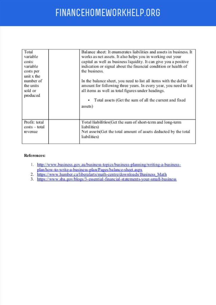 Small Business Financial Statement Template and Template for Small Business Statement and Balance Sheet Template