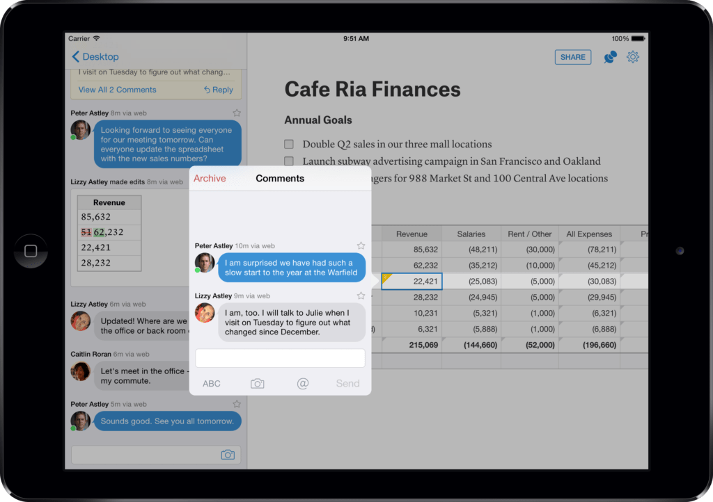 Spreadsheet Collaboration and Quips Adds Spreadsheets to Collaboration Productivity Suite