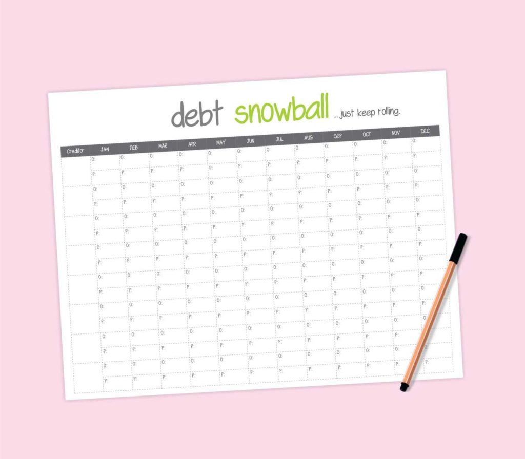 Spreadsheet for Paying Off Debt and Credit Card Debt Payoff Spreadsheet Teerve Sheet