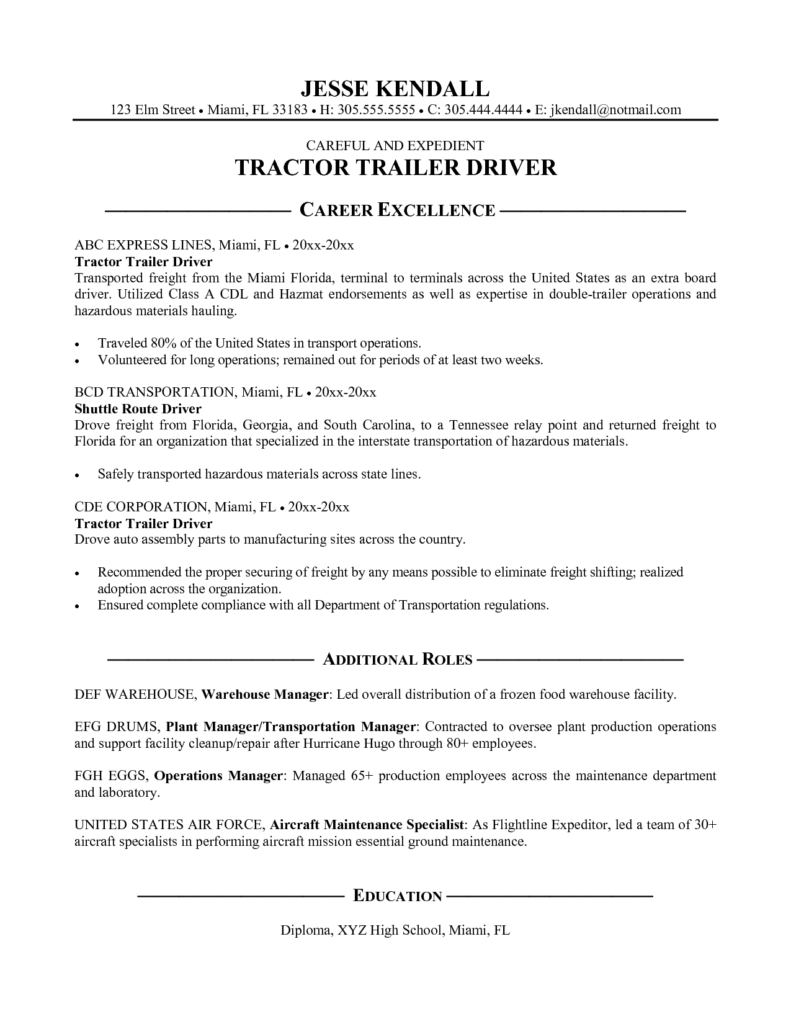 Towing Invoice Template and tow Truck Driver Resume Example tow Truck Driver Resume Example