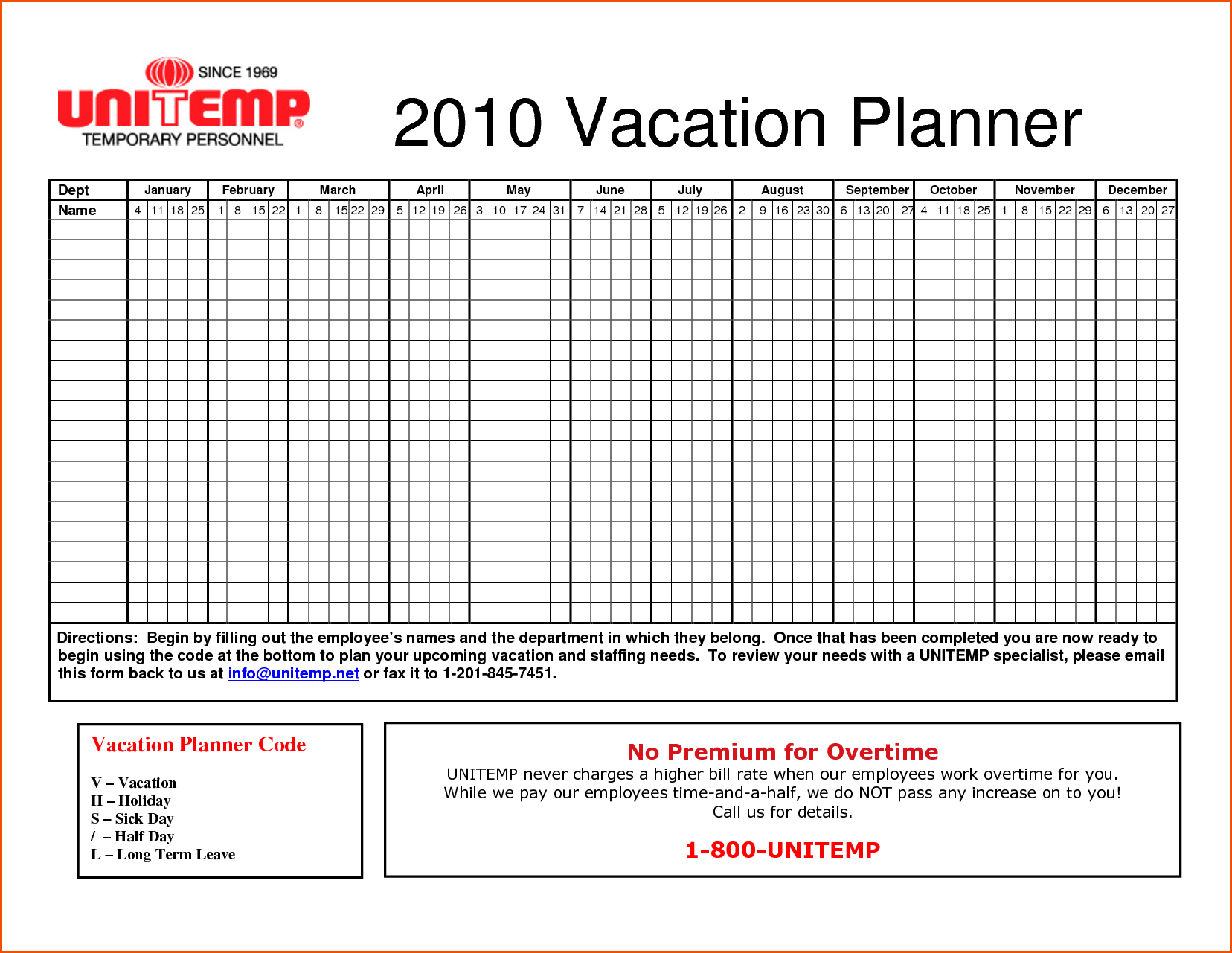 Vacation Tracking Spreadsheet and Vacation Tracking Spreadsheet Spreadsheets