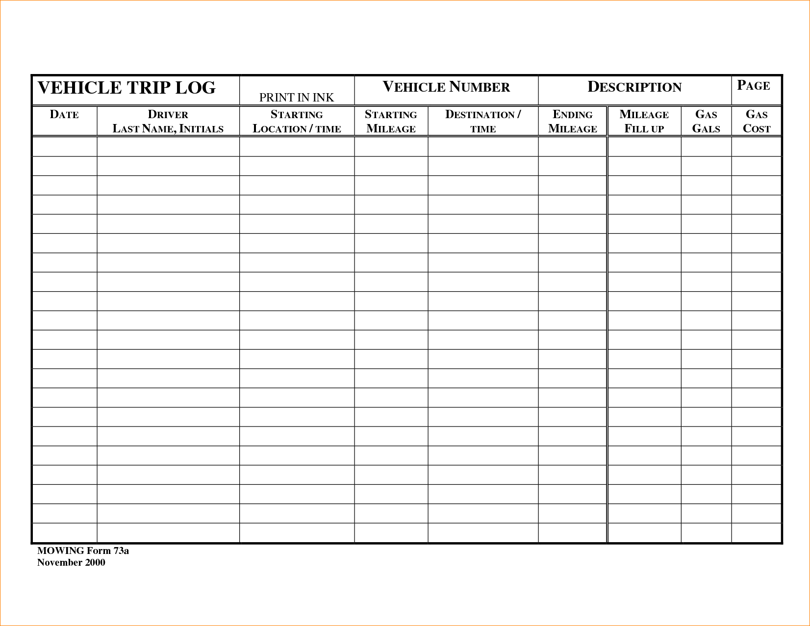 Vehicle Service Sheet Template and Vehicle Maintenance Schedule Template Greenpointer