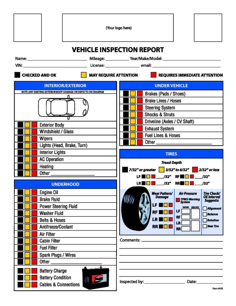 Vehicle Service Sheet Template and Vehicle Service Sheet Template Wolfskinmall