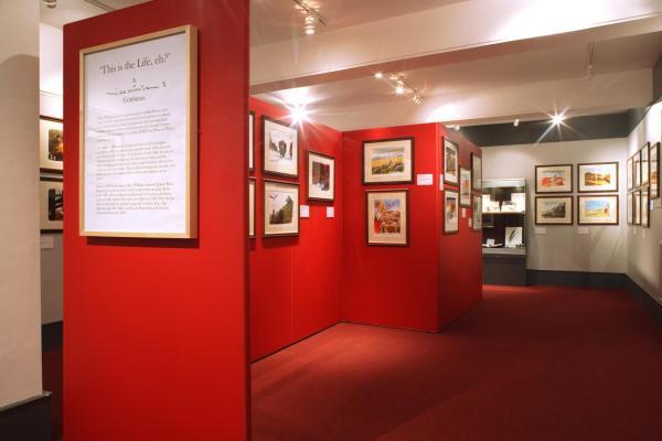 Main & Calman Galleries Cartoon Museum Private