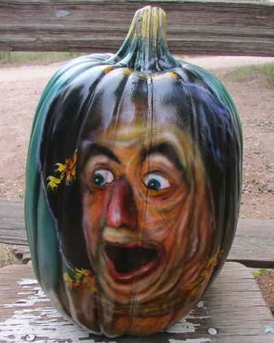 TagYerit Presents Painted Pumpkins