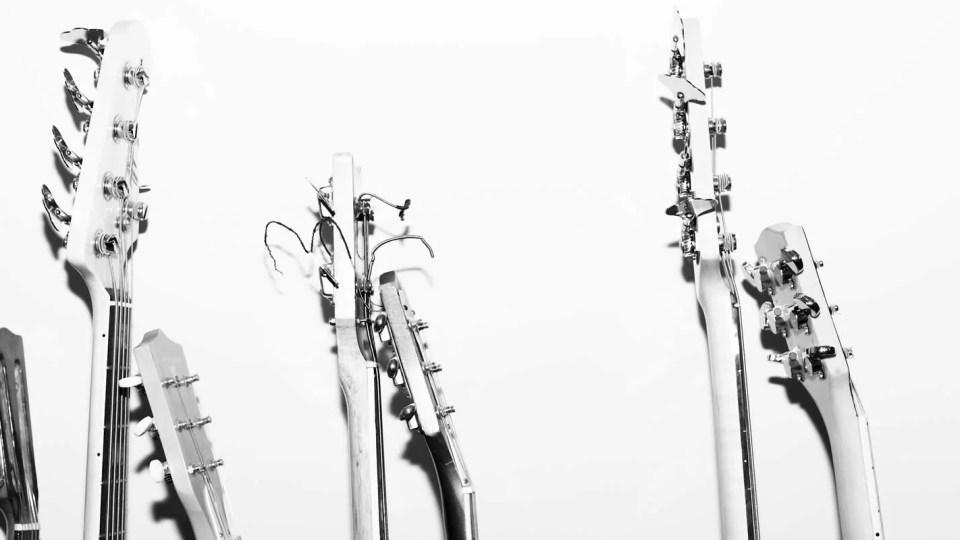 Braços de guitarras