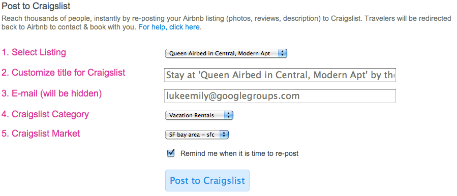 Growth hacking do AirBnB - passo 2