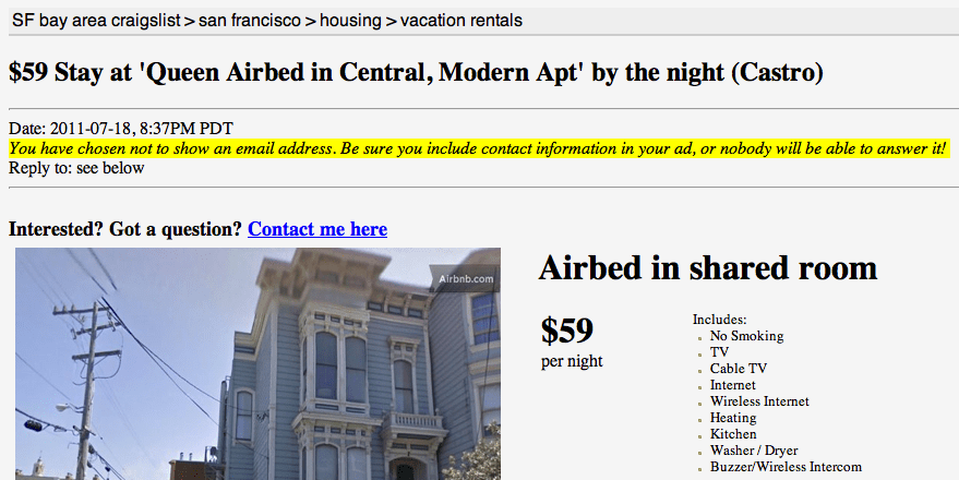 Growth hacking do AirBnB - Passo 4
