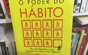 """Capa do livro """"O Poder do Hábito"""""""