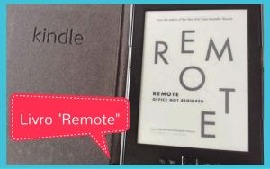 "Livro ""Remote"" no Kindle"