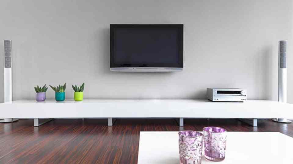 Sala com TV