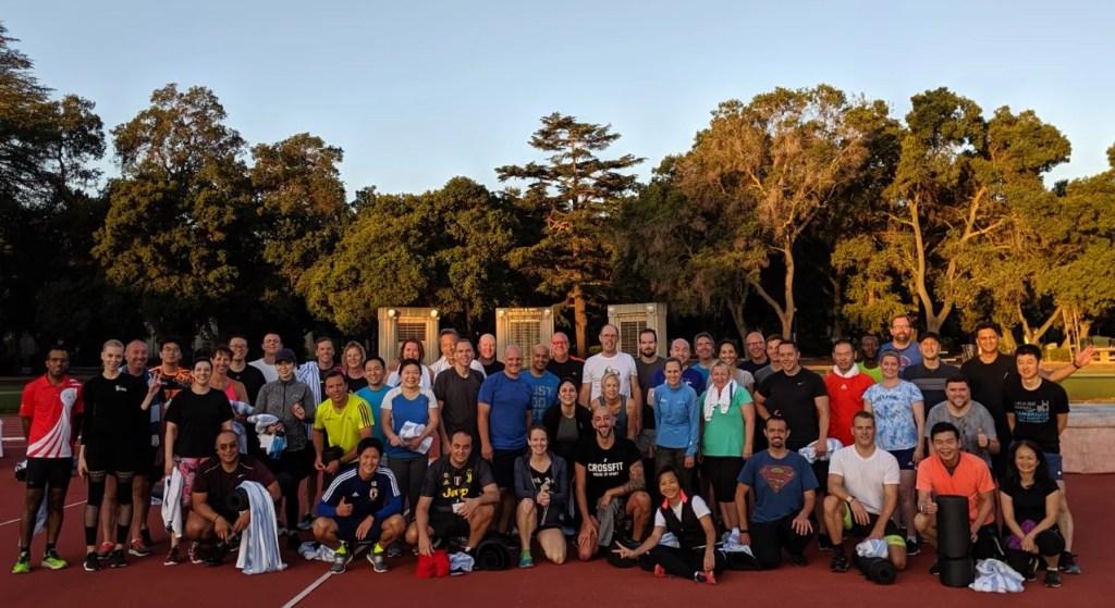 Exercício físico durante curso em Stanford