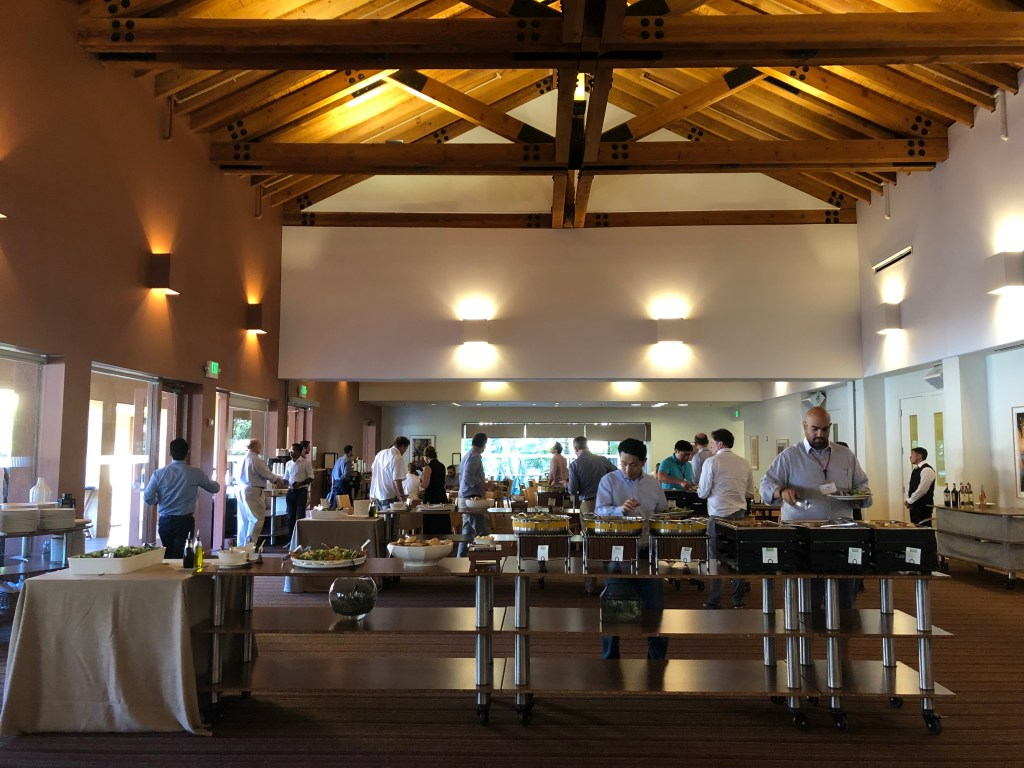 Almoço no Vidalakis, em Stanford