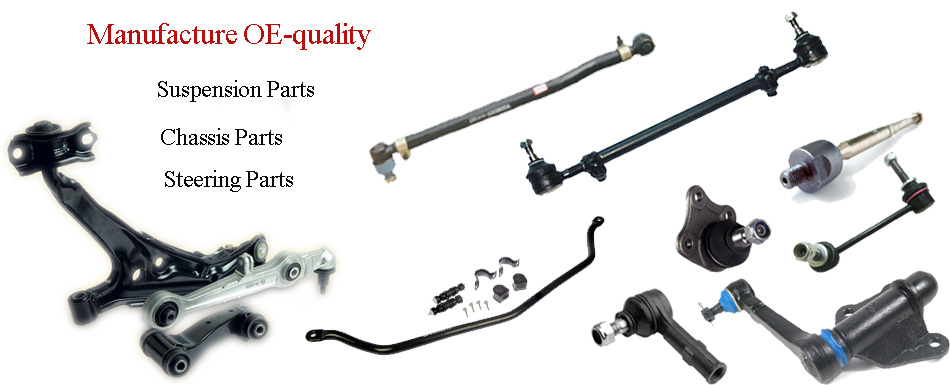 Top Chassis Steering Suspension Parts Manufacturer in