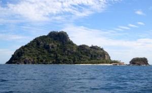 "Monuriki - Island where ""Casta Away"" was filmed"