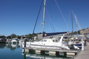 Tahina at Port Moselle, New Caledonia