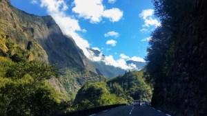 Drive to Cilaos