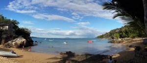 Beach at Komba