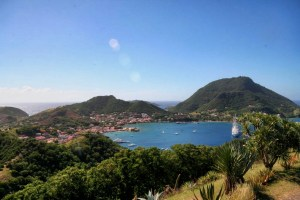 Les Saintes from Fort Napoleon
