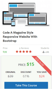 Code A Magazine Style Responsive Website With Bootstrap Code A Magazine Style Responsive Website With Bootstrap