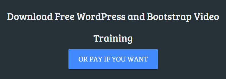 download free wordpress and bootstrap video training courses