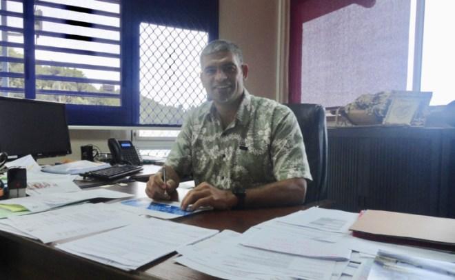 Vetea Araipu, directeur de l'établissement
