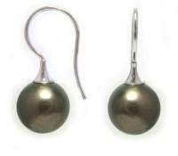 Black Pearl Earring Tahitian Pearl Earrings Macy S ...