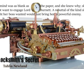 Awesome Steampunk Typewriter and quote
