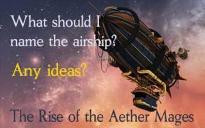 Can you help me name an airship?