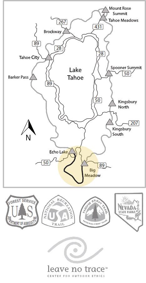 Big Meadow To Echo Lake • Lake Tahoe Guide
