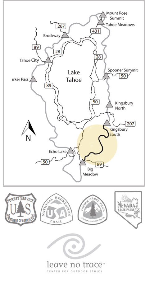 Kingsbury South to Big Meadow • Lake Tahoe Guide