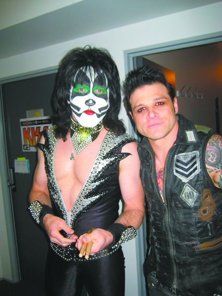 Eric Singer is enjoying life as the drummer for Kiss