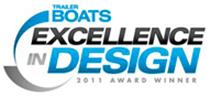 Excellence in Design award logo.