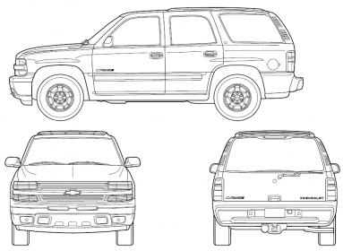 Tahoe template to sketch out your custom paint ideas