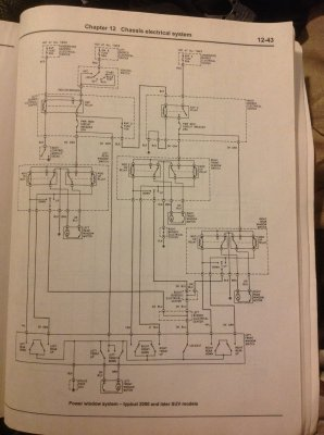 Driver's doormaster window switch wiring diagram | Chevy Tahoe Forum | GMC Yukon Forum | Tahoe