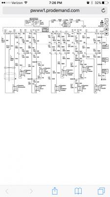 1999 Denali Bose Amp wiring harness diagram | Chevy Tahoe