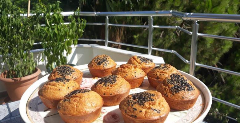 Hamur İşlerine En Güzel Alternatif : Peynirli Muffin