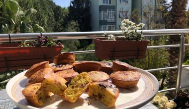 Şekersiz Portakallı Muffin