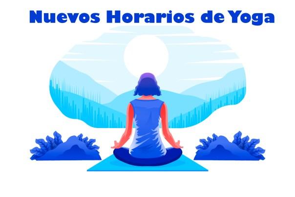 Nuevos Horarios de Yoga