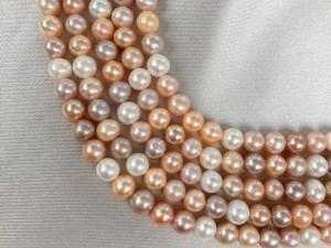 Multi-colour Freshwater Pearl - Per String