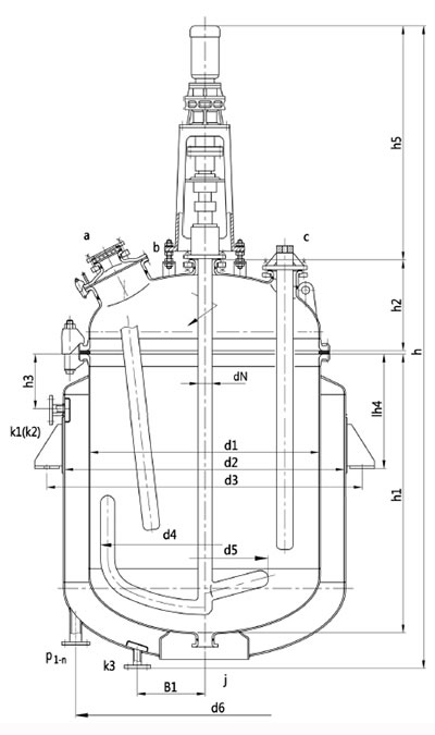 Glass-Lined Reactor, Electric Heating Type Manufacturers