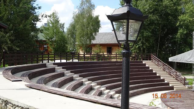 Nagawki - amfiteatr Trening w Nagawkach