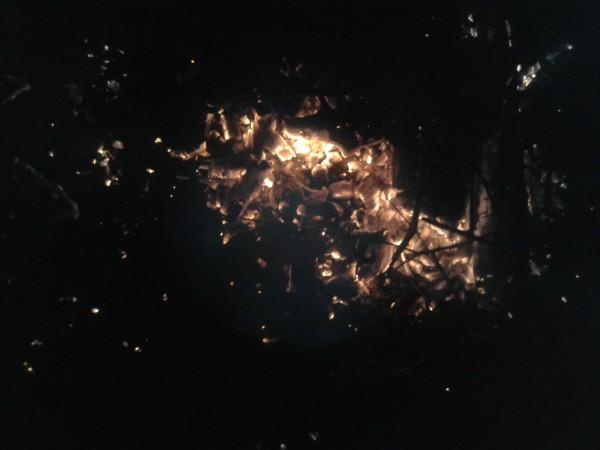 mgławica kraba widziana z okna kuchennego mojej wilii na sigmie Oriona medytacja świecy
