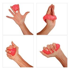 masa-do-cwiczeń gumowa piłeczka