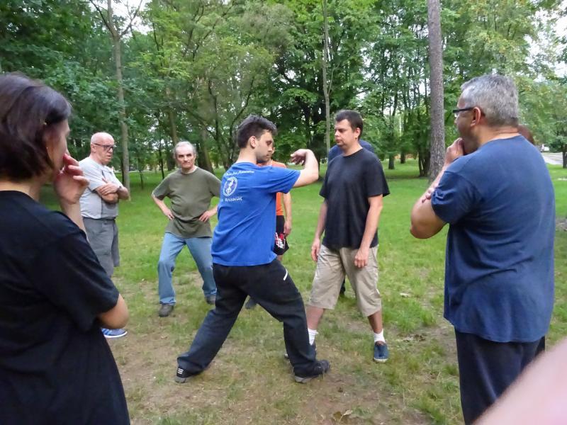 Zwierzyniec - Trening w Białymstoku